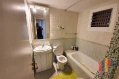 Badezimmer vor der Sanierung
