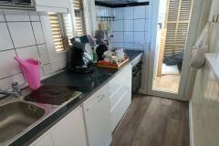 Die fertige Küche