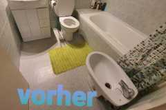 Sanierung Bad - vorher